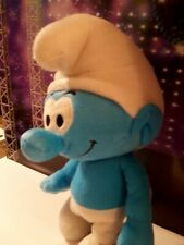 "The Smurfs Peyo Smurf, Smurfs Blue Plush Doll 12"" Tall, Clean, Toy, Nanco 2011"