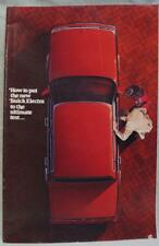 1984 BUICK ELECTRA AUTOMOBILE DEALERS ADVERTISING SALES BROCHURE GUIDE VINTAGE