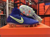 Nike Junior Magista Obra II FG Cleats (Deep Royal Chrome) Size  4.5 68795e8d878c5