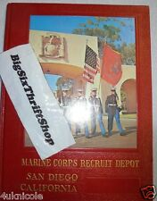 US Marine Corps RECRUIT DEPOT MCRD San Diego 1966 Yearbook 3046 Boot training