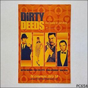 Avant Card #6750 Dirty Deeds Movie 2002 Postcard (B) (P654)