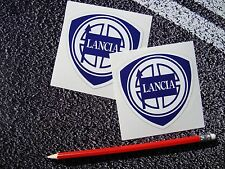 Lancia Badges Integrale Stratos Fulvia F1 Le Mans f1 World Rally Italy ferrari