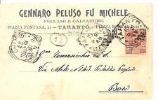 TARANTO - GENNARO PELUSO FU MICHELE  Pellami e Calzature  Piazza Fontana, 21