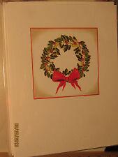 Shirley Bell Design Christmas Card HD-985 Wreath R$19.99 Get Free Ship see desc