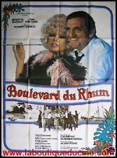 BOULEVARD DU RHUM Affiche Cinéma 160x120 cm Poster BRIGITTE BARDOT LINO VENTURA
