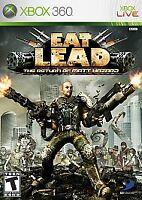 Eat Lead: The Return of Matt Hazard (Microsoft Xbox 360, 2009) Complete