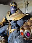 Sideshow+THANOS+ON+THRONE+maquette+EXCLUSIVE+statue