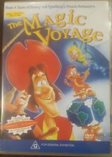 THE MAGIC VOYAGE RARE DVD ANIMATION MOVIE CARTOON FILM DOM DELUISE MICKEY ROONEY