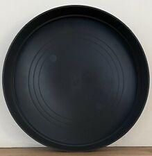 Grey Round Plastic Plant Pot Saucer Heavy Duty 32cm/320mm Quantity: x2
