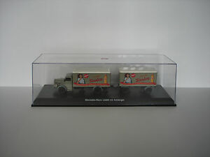 "Mercedes-Benz L6600 ""Sinalco"" w/trailer- Limited Edition - 1/43 - Schuco (03024)"