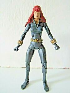 "Marvel Legends Series 8 Super Poseable Black Widow 6"" Inch Action Figure"