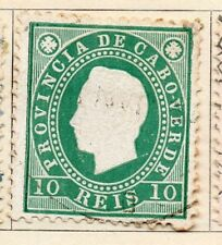 Cape Verde 1886 Early Issue Fine Used 10r. 154083