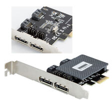 6Gbps PCI-E Express Hot-Plug to 4 ports SATA 3.0 Card Adapter extender E&F