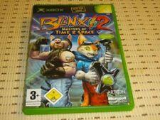 Blinx 2 Masters of time & Space para Xbox * embalaje original *