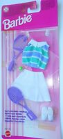 BARBIE dress vintage ABITO MODA SPORT MATTEL 68312