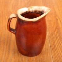 Brown Drip Small Pitcher Syrup Vintage Oven Proof USA