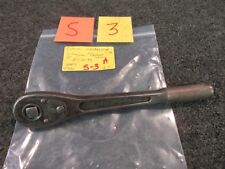 "Craftsman H Ratchet Wrench 11-44 USA 1/2"" Slide Drive Tool Forged Usa Vintage"