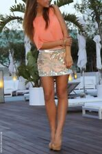 *INCREDIBLY SEXY* ALL SAINTS SEQUIN OYSTER SKIRT SIZE UK 6, US 2, PERFECT CONDIT