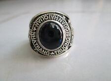 Beautiful Vietnam War NAVY Rings , 925 Sterling Silver , Sapphire, size 7-13 B12
