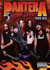 DVD NTSC 1 Pantera 3 Vulgar Videos From Hell 2 Discs