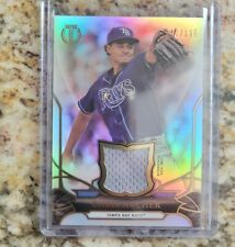 2016 TOPPS TRIBUTE CHRIS ARCHER RELIC GAME USED RELIC 110/196 JERSEY RAYS