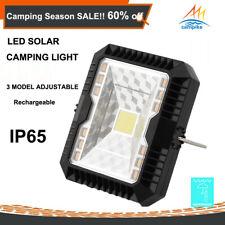 LED Solar Camping Light Outdoor Rechargeable Lantern Waterproof Lamp Caravan 4X4
