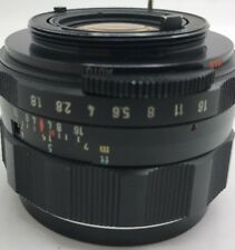 Asahi Takumar 55 mm f/1.8 lente Super Multi coated Camera cámara de fotos lens