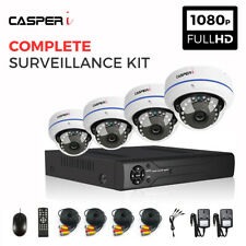 8CH CCTV Surveillance Kit HD DVR System with HD 1080P 2MP Dome Cameras Free Ship