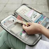 Portable Cash Credit Card Purse Holder Passport Wallet Package Bag Travel