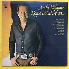 ANDY WILLIAMS - Maison Lovin Man - CBS 64286 EX+ état Vinyle LP