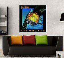 Def Leppard Pyromania - 24x24 Album Artwork Fathead Poster