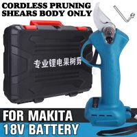 Akku Astschere Strauchschere Rebschere Obstbaumschere Für Makita 18V Batterie