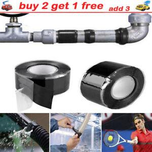 Waterproof Stop Water Leak Self Sealing Indoor Outdoor Plumber Pipe Repair-Tape
