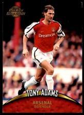 Topps Premier Gold 2001-Arsenal Tony Adams no 1