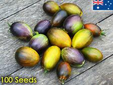 Brad's Atomic Grape Tomato Seeds Unusual Rare Fruit Plant Heirloom 100 Seed