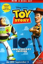 "Pixar Toy Story DVD Release Poster - 10th Anniv. Edition, 26x40"" -  NEW, RARE"