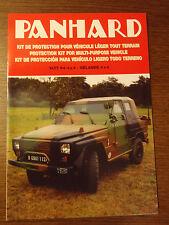 Catalogue Panhard