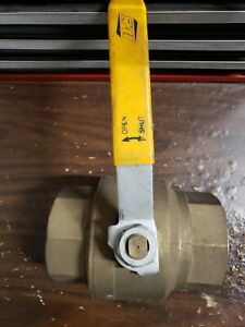 "RUB 4"" Brass-SS Ball Valve"