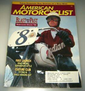 AMERICAN MOTORCYCLIST MAGAZINE, JUNE 1995