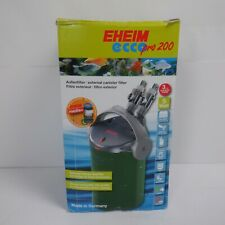 Eheim Eccopro 200 External Canister Filter NEW OPEN BOX