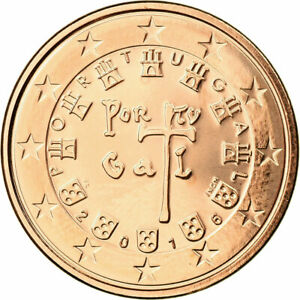 [#731263] Portugal, 5 Euro Cent, 2016, FDC, Copper Plated Steel