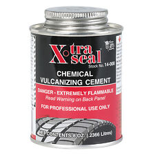 Tyre Repair Vulcanizing Cement / Glue - 250ml Clear Cement - Strong Bonding