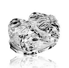 Crystal Baby Booties Ornament Christening Gift Elegant Keepsake 6cms BRAND NEW