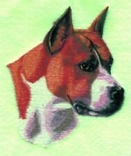 Embroidered Fleece Jacket - American Staffordshire Terrier Bt2627