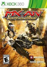 MX vs. ATV Supercross USED SEALED (Xbox 360) Free Shipping
