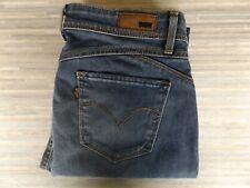Ladies Levi Strauss & Co. Demi Curve Revel Skinny Fitting Blue Jeans W28 L32