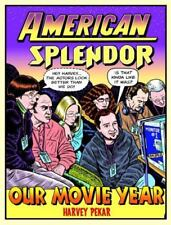 AMERICAN SPLENDOR GRAPHIC NOVEL OUR MOVIE YEAR HARVEY PEKAR