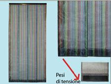 Tenda ZANZARIERA A PANNELLI COLORATI VERTICALI - cm 100x220H zanzariere  porta f