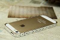 Kette Schutzhülle Case Bumper Cover Hülle Rahmen Schmuck für iPhone 5 5S SE