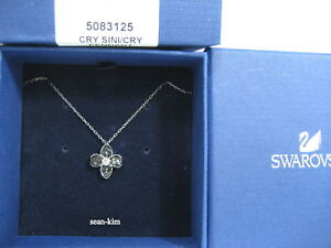 Swarovski Bunch Pendant, Flower Moifs, Dark Crystal Authentic MIB - 5083125